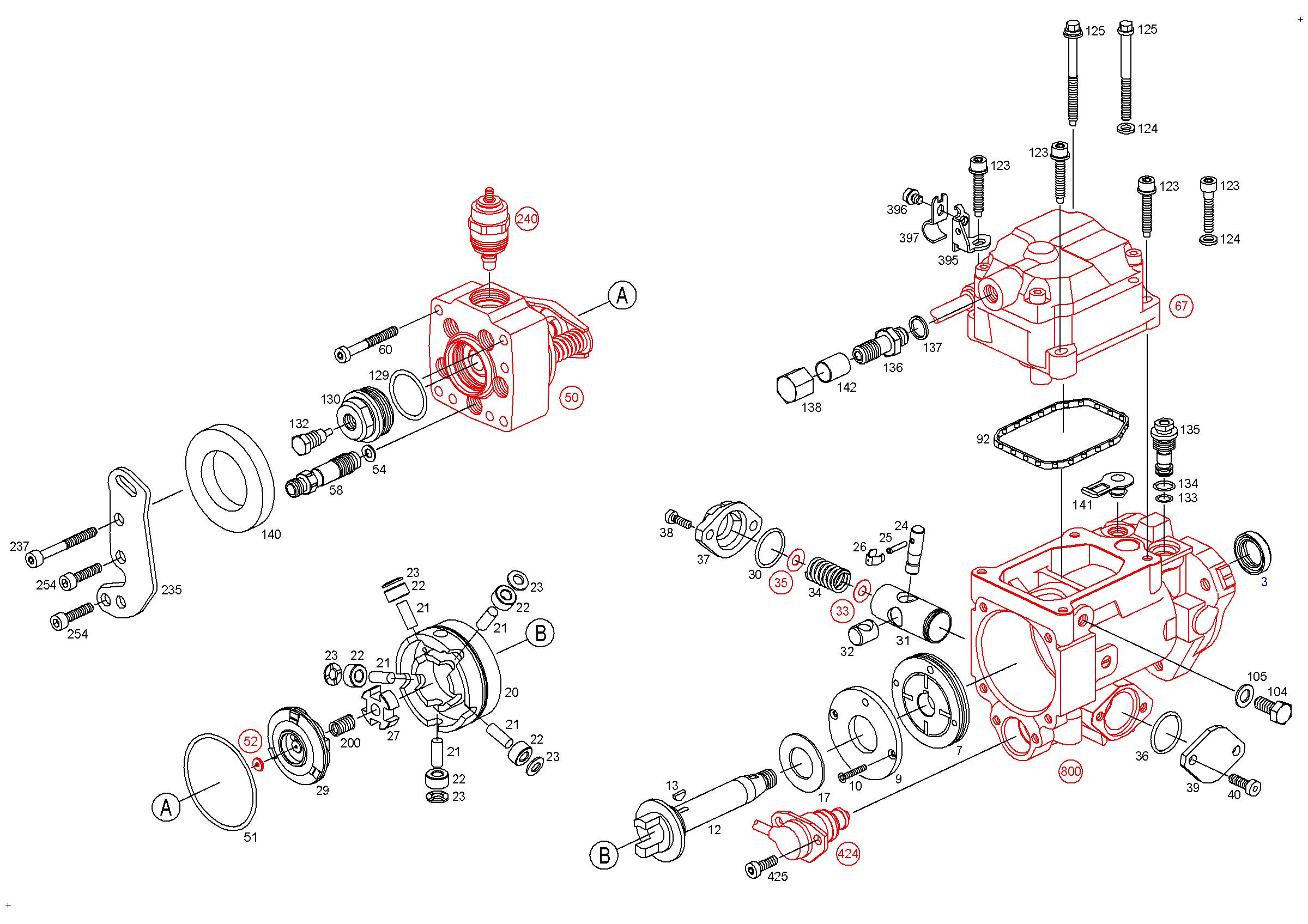 Схема топливной системы бош на камаз